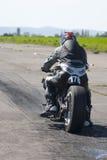 摩托车短跑竟赛者 库存图片