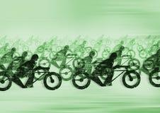 摩托车种族 免版税图库摄影