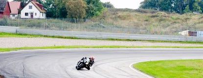 摩托车种族 图库摄影