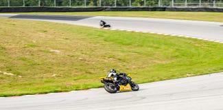 摩托车种族 免版税库存图片