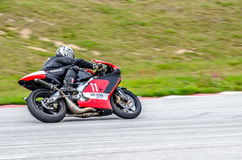 摩托车种族 库存照片