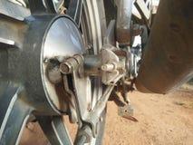 摩托车管子 库存图片