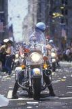 摩托车警 免版税库存照片