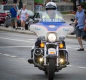 摩托车警 免版税图库摄影