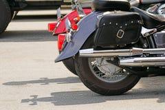 摩托车详细资料 库存照片