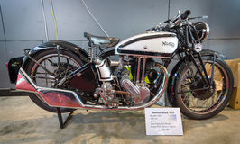 摩托车诺顿模型18日1935年 免版税库存图片