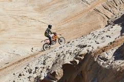 摩托车越野赛俱乐部锻炼 免版税库存图片