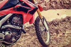 摩托车越野赛的图片 免版税图库摄影