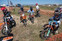 摩托车越野赛种族 库存照片
