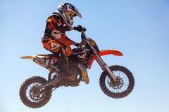摩托车越野赛种族 库存图片