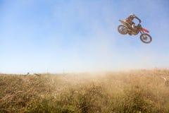 摩托车越野赛种族 图库摄影
