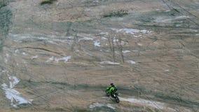 摩托车越野赛自行车乘驾 股票视频