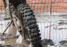 摩托车越野赛自行车 免版税库存图片