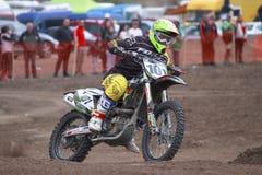 摩托车越野赛- 101-MX1 库存图片