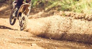 摩托车越野赛 库存图片