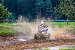摩托车越野赛ATV 库存照片
