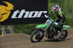摩托车越野赛MXGP特伦托自治省2015年Villopoto #2 库存图片