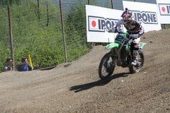 摩托车越野赛MXGP特伦托自治省2015年Villopoto #2 免版税库存照片