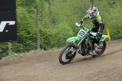 摩托车越野赛MXGP特伦托自治省2015年Villopoto #2 库存照片