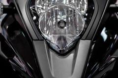 摩托车车灯 免版税图库摄影