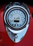 摩托车车速表 图库摄影