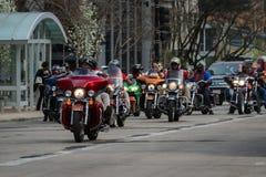 摩托车集会 免版税库存图片