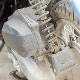 摩托车震动 库存照片
