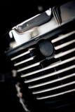摩托车,技工的部分的细节 免版税库存照片