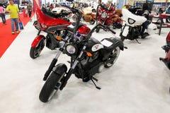 摩托车2015年 库存照片