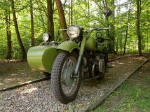摩托车 免版税库存图片