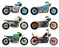 摩托车 库存例证