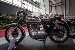 摩托车BSA金星DBD34, 1960年 库存图片