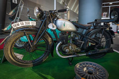 摩托车DKW SB 350, 1935年 免版税库存照片