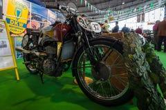 摩托车DKW SB 350, 1938年 免版税库存照片