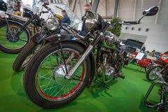 摩托车Horex雷日纳, 1950年 库存照片