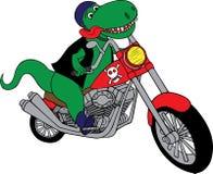 摩托车rex t 库存例证
