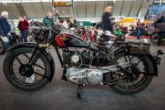 摩托车Tornax III-30, 1930年 免版税库存照片