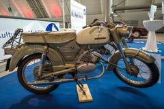 摩托车Zuendapp体育Combinette, 1962年 免版税库存图片