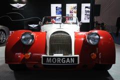 摩根汽车前面 免版税库存图片