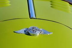 摩根象征加上4辆跑车经典之作汽车 免版税库存图片