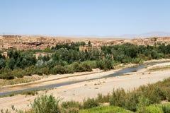 摩洛哥农村横向 库存照片