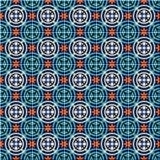 摩洛哥华美的无缝的样式,葡萄牙瓦片, Azulejo,装饰品 能为墙纸,样式积土,网使用 免版税库存照片