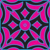 摩洛哥壁画装饰几何无缝的样式 向量例证