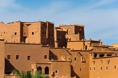摩洛哥巴巴里人镇ouarzazate 免版税库存照片