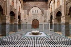摩洛哥建筑学的例子 库存图片