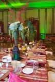 摩洛哥接收婚礼 免版税图库摄影