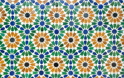摩洛哥瓦片 免版税库存图片