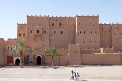 摩洛哥筑了堡垒于城市 图库摄影