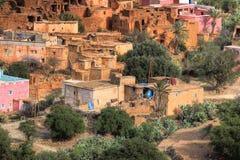 摩洛哥老村庄 免版税库存照片