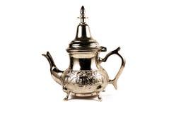 摩洛哥茶壶 免版税库存图片